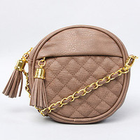 The Natalie Bag in Nutmeg