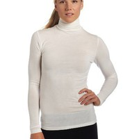Cuddle Duds Women`s Softwear with Stretch Long Sleeve Turtle Neck Top $24.63