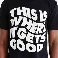 DUDS Gets Good Tee- Black