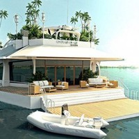 Luxury Osros Floating Island by Austrian Company