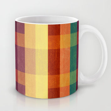 Autumn Winds Abstract Mug by VessDSign