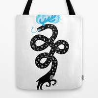 The Puzzling Beast Tote Bag by Heiko Windisch