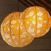 Leaf Paper Lantern Luminaries