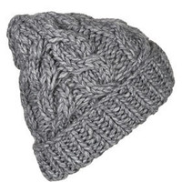 Grunge Cable Beanie - New In