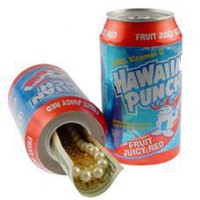 Diversion Safe Hawaiian Punch Can - Cool college security products dorm room safe dorm room theft protection cool dorm room items