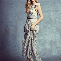Free People Womens Cherry Blossom Maxi - Spring Garden Combo