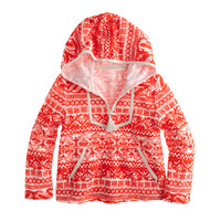 crewcuts Girls Printed Terry Popover