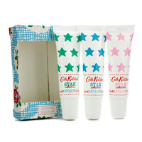Cath Kidston Star Collection Lip Gloss Set: Lime & Mint 10ml + Rose & Peony 10ml + Bluebell & Jasmine 10ml 3pcs - Default