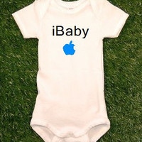 iBaby iPod iPhone Mac Cool Baby Bodysuit Onesuit Creeper MORE COLORS