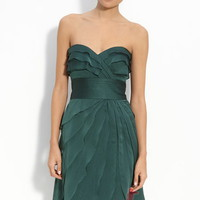 Sheath Sweetheart Short Chiffon Cocktail Dress with Cascading Ruffle at Msdressy