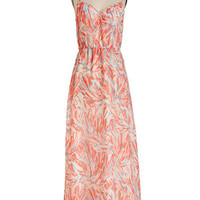 Jack by BB Dakota Long Spaghetti Straps Maxi Rinsed by the Rain Dress in Pastel Pink