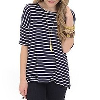 Real Deal Top, Navy