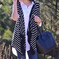 End of the Line Cardi, Black