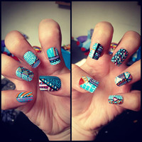 Aztec Nails