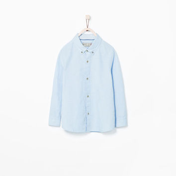 BUTTONED OXFORD SHIRT
