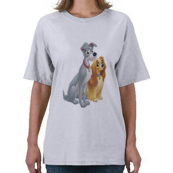 Cute Lady And The Tramp Disney Tee Shirts From Zazzle Epic