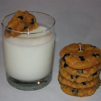 Milk and Cookies Candles - Oatmeal Raisin Cookie - Small
