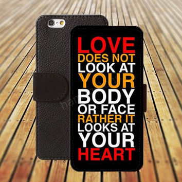 iphone 5 5s case loves colorful iphone 4/ 4s iPhone 6 6 Plus iphone 5C Wallet Case , iPhone 5 Case, Cover, Cases colorful pattern L083