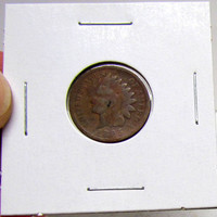 Vintage Indian Head Penny 1895 (You Grade)( In 2X2 Holder)