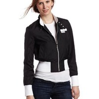 Members Only Women`s Neon Classic Bomber Jacket $49.00