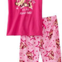 Luv 2 Sleep Girls 7-16 Monkey 2 Piece Tee Capri Set $17.00