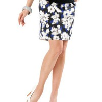 A Pea in the Pod: Secret Fit Belly(tm) Knee Length Slim Fit Maternity Skirt $33.99