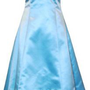 Satin Halter Dress Tulle Mini Train Prom Bridesmaid Holiday Formal Gown Junior Plus Size $69.99
