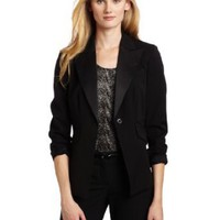 Jones New York Women`s Novelty Tuxedo Jacket $119.10