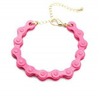Neon Chain Bracelet - Retro, Indie and Unique Fashion