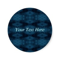 Pretty Blue and Black Abstract