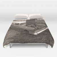 Vauxhall Victor Duvet Cover by Bruce Stanfield
