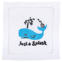 """Just A Splash"" Cocktail Napkin Set 