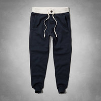 A&F Twill Waistband Jogger Sweatpants