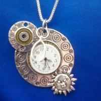 Steampunk & Luck Necklace from Wild Ivy Design