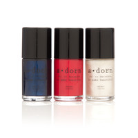 3 Pack- Patriotic Nail Paint Set ($33 value)