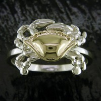 Crab Ring by Steven Douglas