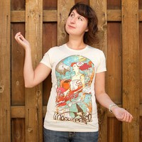 """Miss Earth"" - Threadless.com - Best t-shirts in the world"