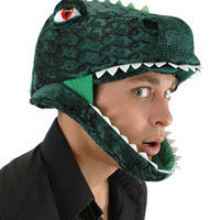 T- Rex Headpiece - Dinosaur Costume Accessories