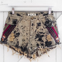 Tribal Days Destroyed Shorts