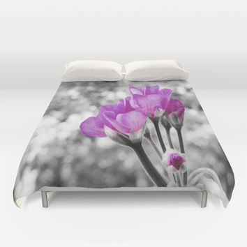 Near Bloom #2 Duvet Cover by 2sweet4words Designs