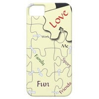 Customize - Life&#x27;s jigsaw puzzle iPhone 5 cases from Zazzle.com