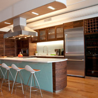 Kitchen Island - Tribeca open kitchen