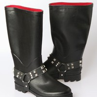 Henry Ferrera Women's Dakota Rainboot - Black - Punk.com