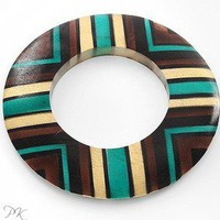 Pynk Krush  Chunky Wood Bangle
