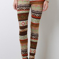 Ethnic Tribe Leggings