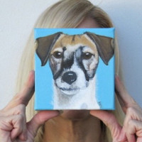 Terrier Custom Dog Portrait