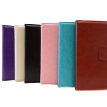TCD iPhone 6 Red Solid PU Leather Wallet