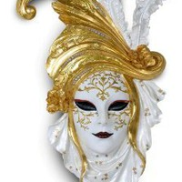 Wall Decor | Golden Poppy Carnival Mask