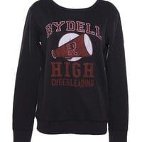Ladies Grease Rydell High Sweater : TruffleShuffle.com