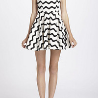 Waves Skater Dress